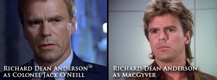 Colonel O'Neill and MacGyver